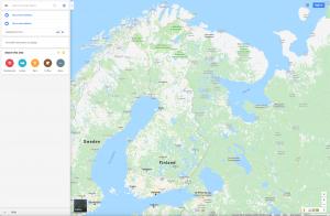Maps Reittihaku